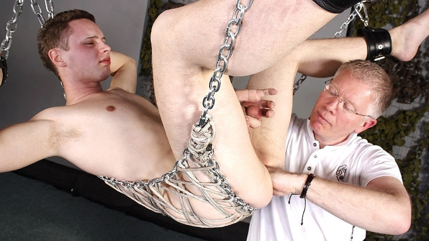 Young Twink Slaves In Bondage Fucked Bareback Cum Hard