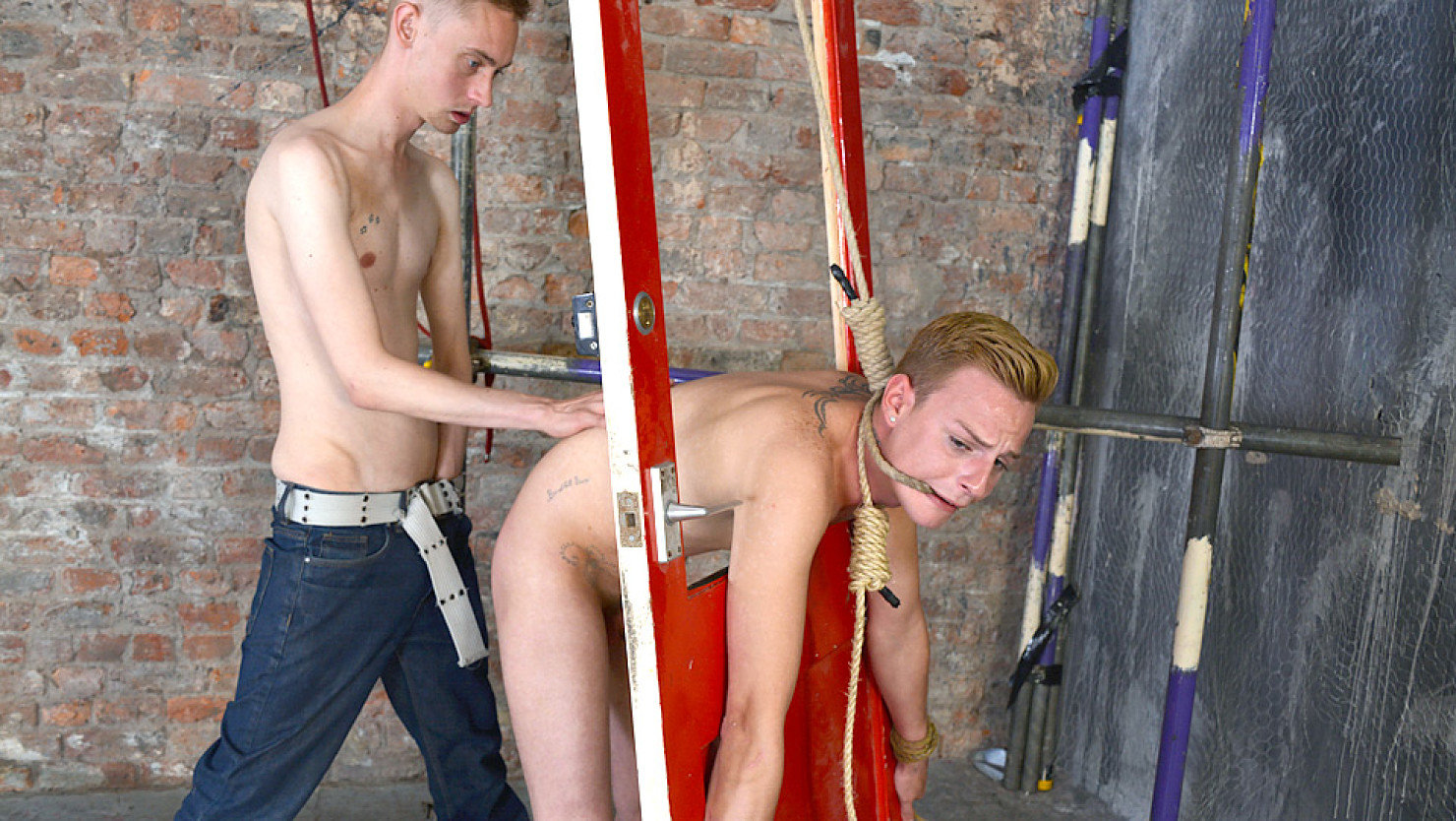Cameron James Gets Flogged Fingered Hard And Fucked Deep