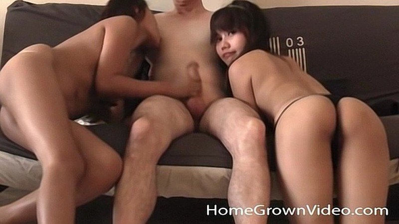 Lucky Martin C. Bangs Barely Legal Asians Brandy and Candy