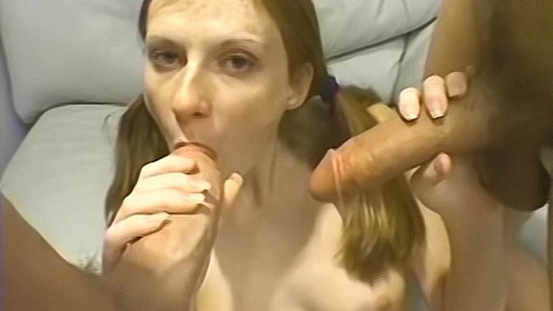 Barely Legal Redhead Alison Gets Two Facials