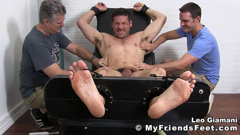 Leo giamani tickled