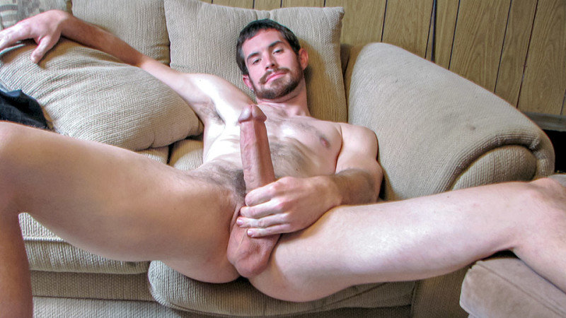 Hairy Jock Hunter Jerks Off